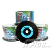 RISHENG CD-R光盘50片桶装(黑碟)