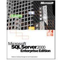 微软 SQL Server 2000 英文标准版(1CPU 不限客户端)产品图片主图