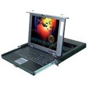 卓普 17寸抽取式LCD KVM三合一控制平台(ZP1701A)