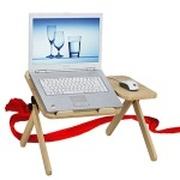 酷奇 笔记本床上电脑桌(实木)