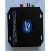 三虎 1路视频+1路反向数据数字光端机(EW-1100R)