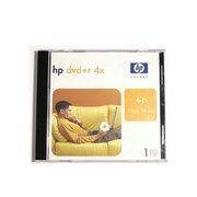 惠普 DVD+R光盘单片装 (4X)