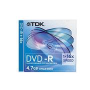 TDK DVD-R光盘单片装 (16X)