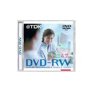 TDK DVD-RW光盘单片装 (4X)