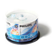 飞利浦 CD-R 52X(50片装)