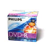 飞利浦 DVD-R 16X(10片薄盒装)