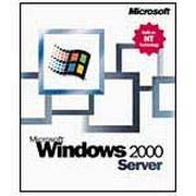 微软 Windows 2000 Server英文版(5客户端)
