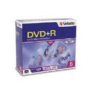威宝 DVD+R 16速(单盒5片装/95049)