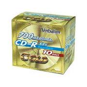 威宝 黄钻系列 CD-R 52速(10片单盒装/41733)