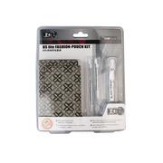 黑角(BLACK HORNS) DSL灰色花纹图案时尚布包套装(BH-DSL09208)