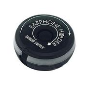 SANWA 耳机线缆收纳器(黑色)