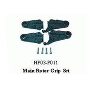 黑鹰 主旋翼夹片组(450配件)HP03-P011