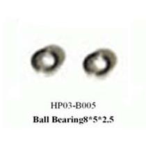 黑鹰 轴承组8×5×2.5(450配件)HP03-B005产品图片主图