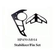 黑鹰 垂直/水平翼组(450配件)HP450-M014