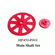 黑鹰 齿轮组(450配件)HP450-P001