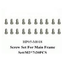 黑鹰 侧板螺丝D组(450配件)HP05-M018产品图片主图