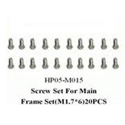 黑鹰 侧板螺丝A组(450配件)HP05-M015