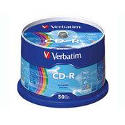 威宝 五彩盘面 CD-R 52速(全球包装50片装/62618)