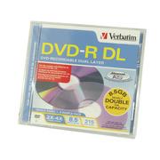 威宝 DVD-R DL 4速(单片盒装/95165)