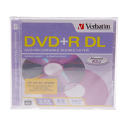威宝 DVD+R DL 2.4速(单片盒装/694912)