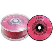 铼德 CD-R 52速 中国红系列黑胶(25片桶装)