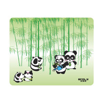 宜客莱 MP-CA04 卡通鼠标垫之熊猫产品图片主图