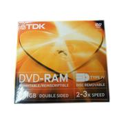TDK 9.4GB 卡匣式DVD-RAM刻录盘