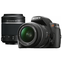 索尼 a390套机(18-55mm,55-200mm)产品图片主图