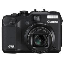 佳能 G12 数码相机 黑色(1000万像素 2.8英寸可旋转液晶屏 5倍光学变焦 28mm广角)产品图片主图