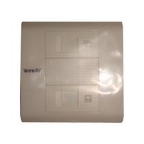 腾达 双口插座面板(防尘)TD1012产品图片主图