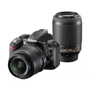 尼康 D3100套机(18-55mm VR,55-200mm VR)