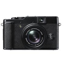 富士 X10 数码澳门金沙国际网上娱乐 黑色(1200万像素 2.8英寸液晶屏 4倍光学变焦 28mm广角)产品图片主图