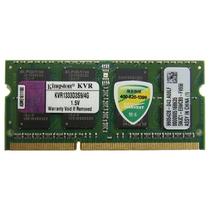 金士顿 4G DDR3 1333 笔记本(KVR1333D3S9/4G)产品图片主图