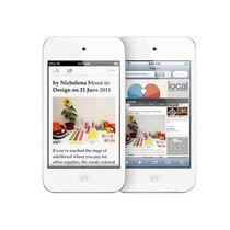 苹果 iPod touch4 白色(64G)产品图片主图