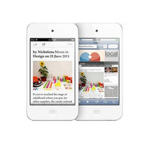 苹果 iPod touch4 白色(32G)产品图片主图