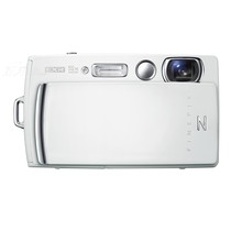 富士 Z1010EXR 数码相机 白色(1600万像素 3.5英寸液晶屏 5倍光学变焦 28mm广角)产品图片主图