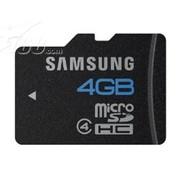 三星 Micro SD卡 Class4(4GB)(MB-MS4GB)