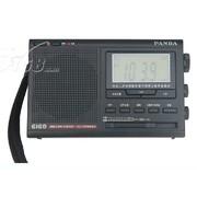 熊猫 6168高灵敏度十二波段二次变频数码显示钟控立体声收音机