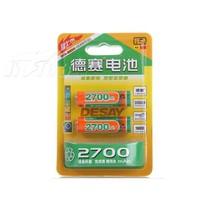 德赛 5号2700mAh镍氢充电电池2粒卡装产品图片主图