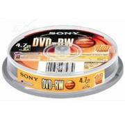 索尼 DVD-RW 10片