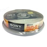 索尼 DVD-R 桶装10片 台产