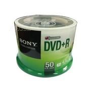 索尼 DVD+R 桶装50片 台产