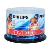 飞利浦 DVD+R 16X(50片桶装)