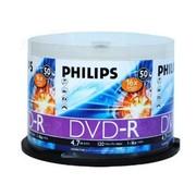 飞利浦 DVD-R 16X(50片桶装)