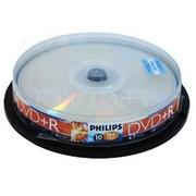 飞利浦 DVD+R 16X(10片桶装)