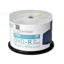 TDK DVD-R 16X(50片桶装)产品图片主图