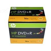 惠普 DVD+R 16X 4.7GB(单片盒装 10片一组)