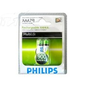 飞利浦 7号900mAH充电电池
