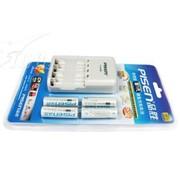 品胜 TS-MC006新1代标准充套装(4节5号2000mAh电池)