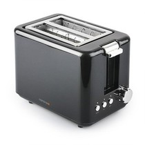 北欧欧慕 多士炉 烤出带笑脸的面包 NDS6801 炫目黑产品图片主图